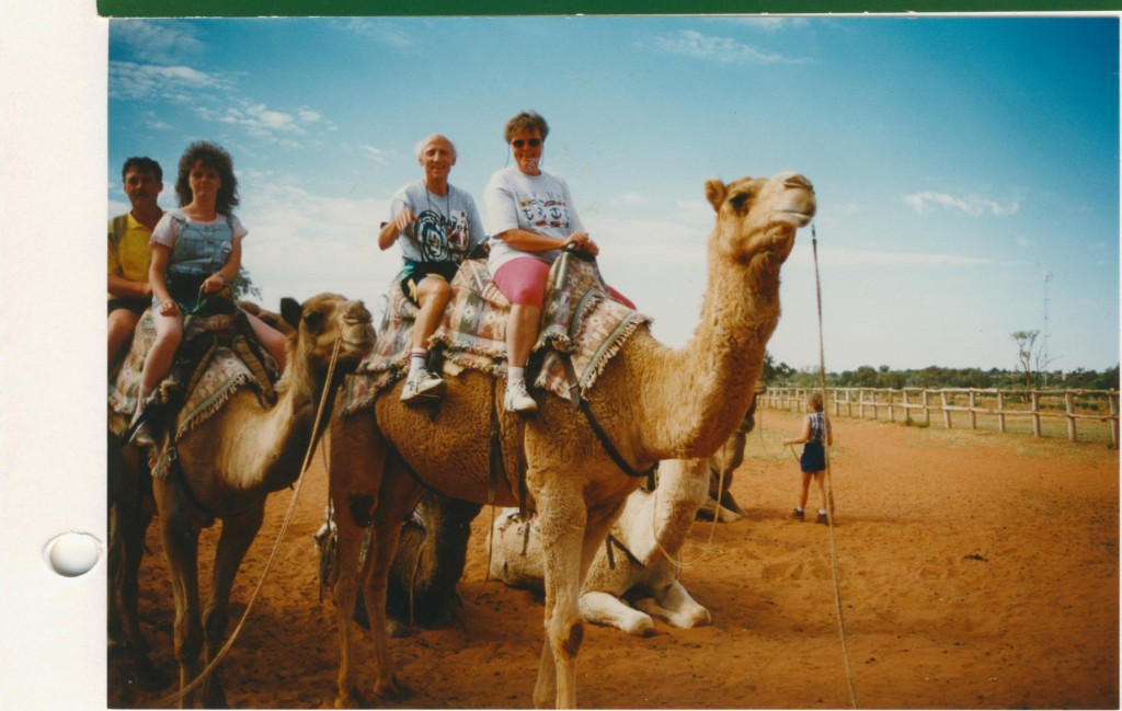 Camel-Reiten im Outback-Northern-Territory