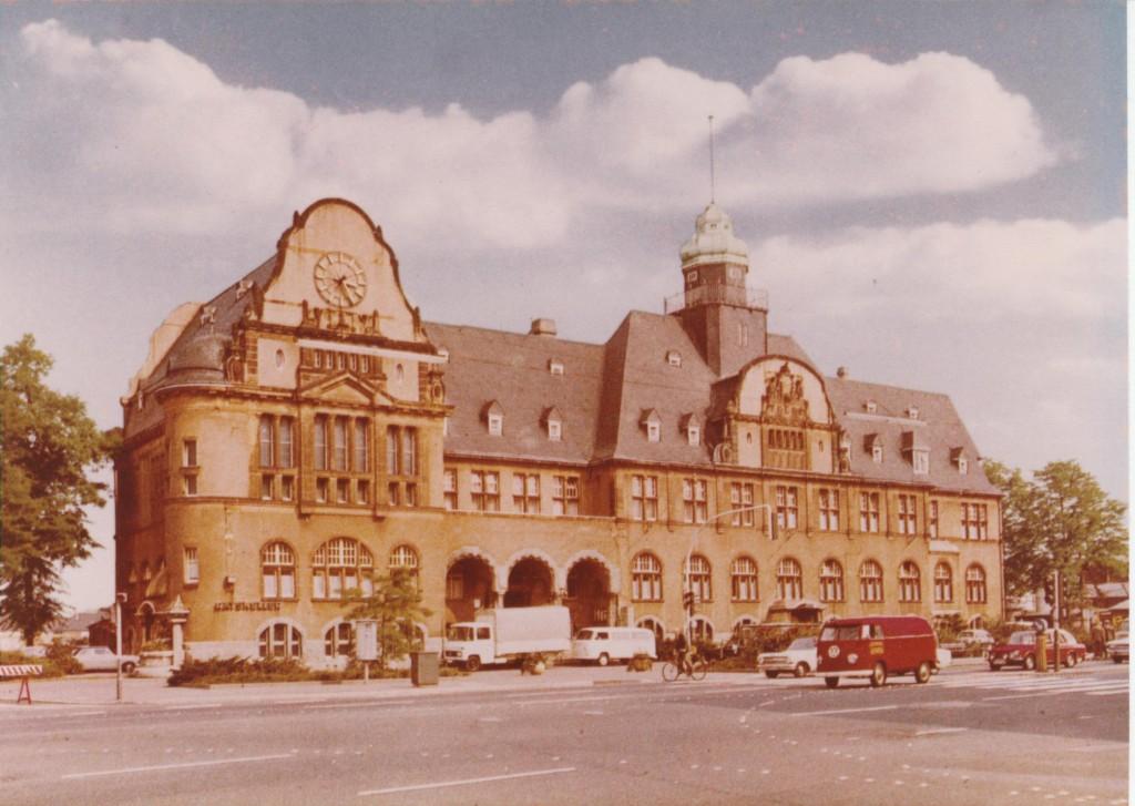 Das ehemalige Rathaus in Leverkusen