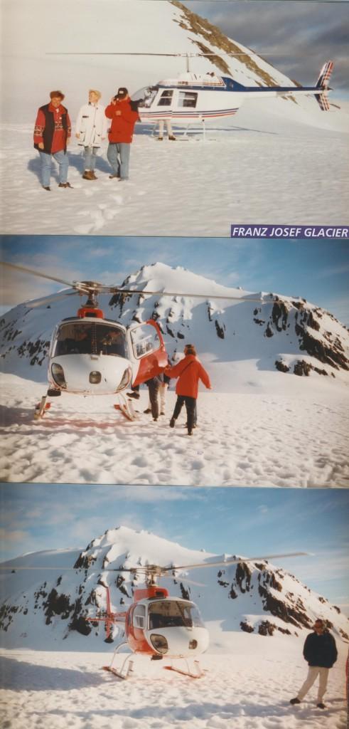 Gletscherflug Neuseeland