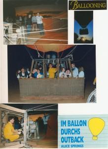 Im Ballon durchs Outback