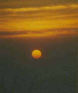 Sonnenaufgang vom Mt. Bromo